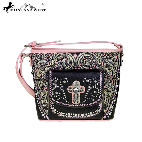 MW487-8287 Montana West Spiritual Collection Crossbody Bag