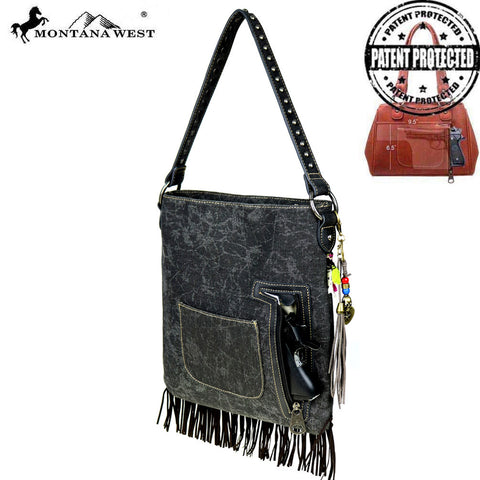 MW488G-8014 Montana West Fringe Collection Concealed Handgun Hobo