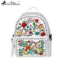 MW493-9110 Montana West Embroidered Collection Backpack