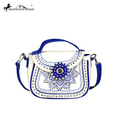 MW523-8360 Montana West Concho Collection Crossbody