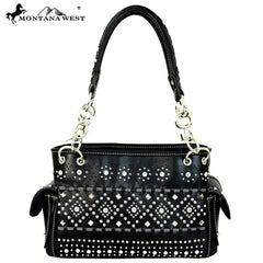 MW544-8085 Montana West Bling-Bling Collection Satchel
