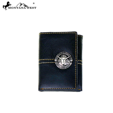 MWS-W009 Genuine Tooled Leather  Collection Men's Wallet