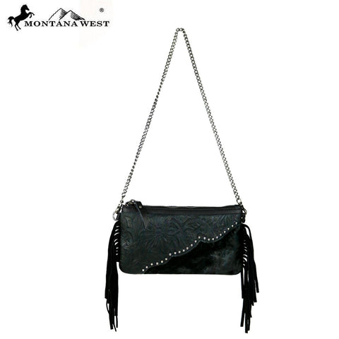 RLC-L001 Montana West 100% Real Leather Clutch
