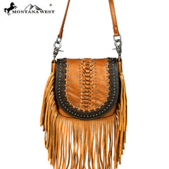 RLC-L092 Montana West Real Leather Crossbody