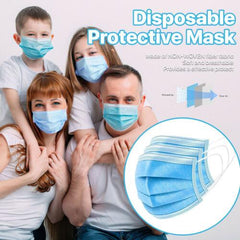 10000Pcs American Bling Disposable Face Masks 3 Layers Protective Cover Masks