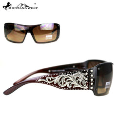 SGS-4106 Montana West  Scroll Collection Sunglasses