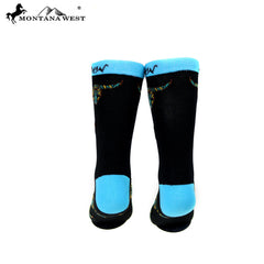 SK-004  Montana West Longhorn Collection Sock (12pcs/Box)