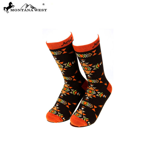 SK-005  Montana West Aztec Collection Sock (12pcs/Box)