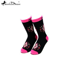 SK-006  Montana West Aztec Collection Sock (12pcs/Box)