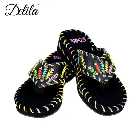 SS-S007  Delila Collection Flip Flops