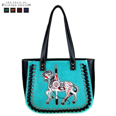 TPP01-8318 The Trail Of Painted Ponies Collection Tote