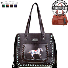 TPP02G-8318 The Trail Of Painted Ponies Collection Concealed Handgun Tote