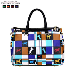 TPP03-9325 The Trail of Painted Ponies Collection Satchel