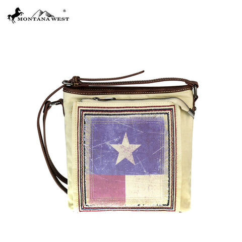 TX17G-8300 Montana West Texas Pride Collection Concealed Handgun Messenger Bag