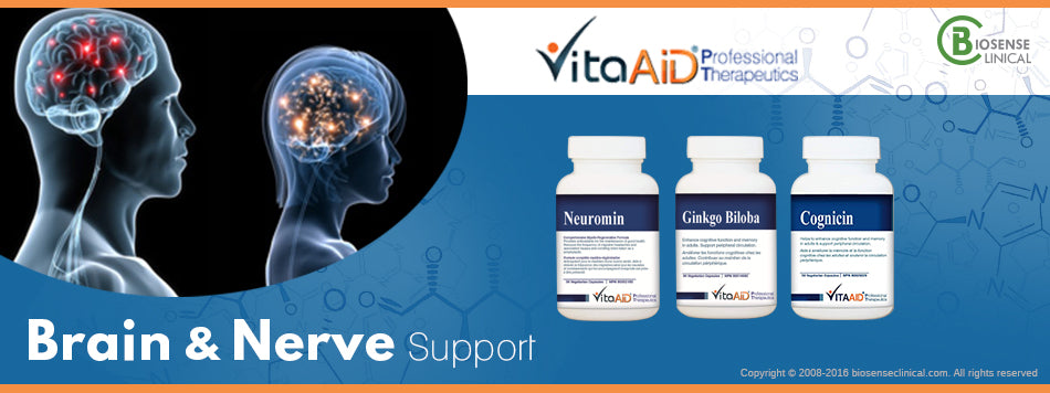 VitaAid category banner Brain & nerve support