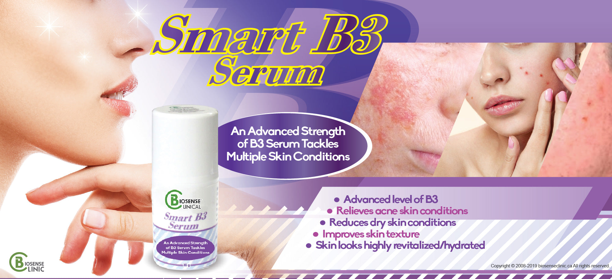 BiosenseClinical Smart B3 Serum banner