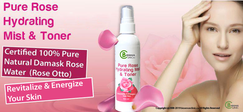 BiosenseClinical Professional Custom Compound Pure Rose Supreme Hydrating Mist & Toner product banner