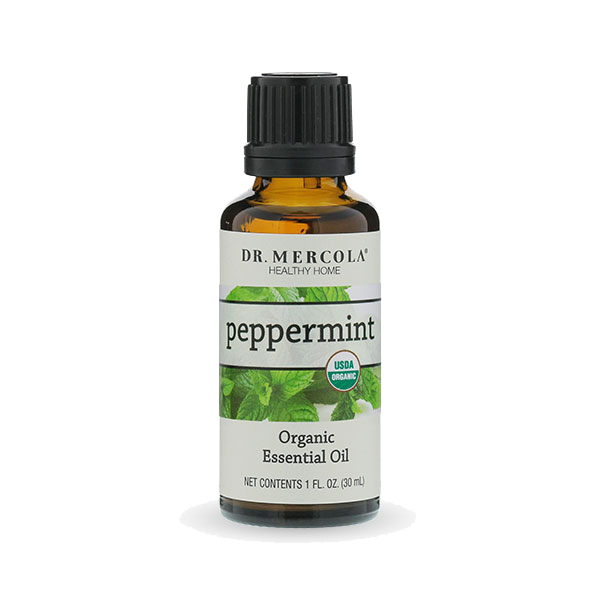 Organic Peppermint Essential Oil (1 oz.) - BiosenseClinic.ca