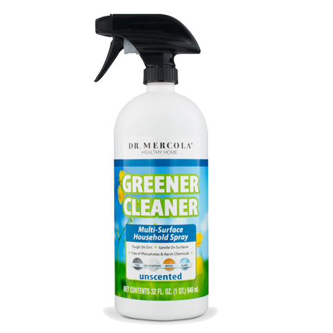 Greener Cleaner Multi-Surface Household Spray - Unscented - BiosenseClinic.ca