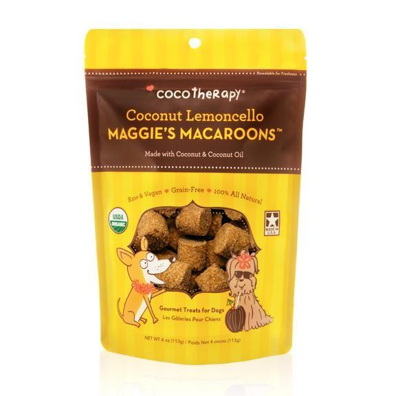 Cocotherapy Maggie's Macaroons Coconut Lemoncello - BiosenseClinic.ca