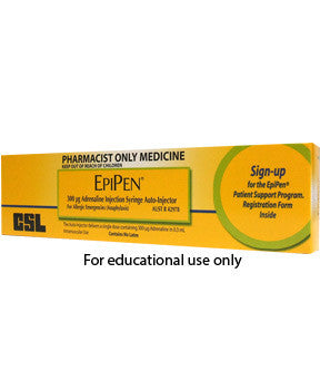 EpiPen Adult or Junior - BiosenseClinic.ca