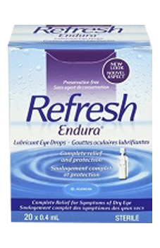 Refresh Endura Lubricant Eye Drops - BiosenseClinic.ca