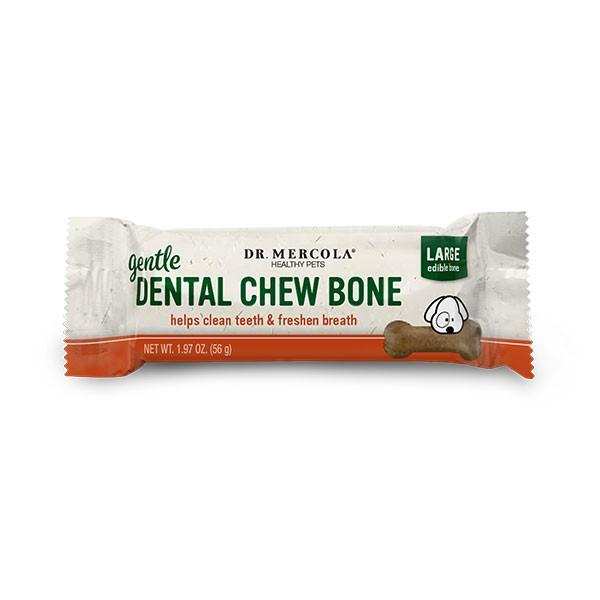 Dr Mercola Gentle Dental Chew Bones Large - BiosenseClinic.ca