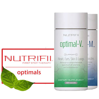 Nutrifii Optimals Combo - Optimal V + Optimal M - BiosenseClinic.ca