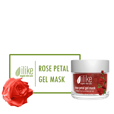 Ilike Gel Mask - Rose Petal - BiosenseClinic.ca