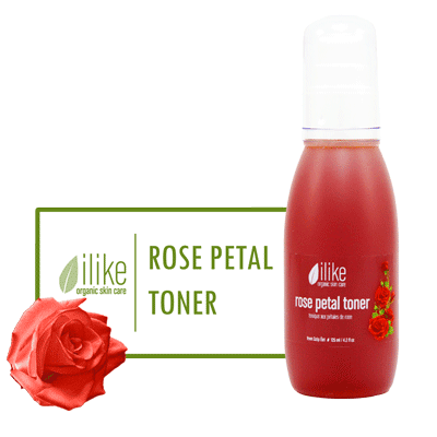 Ilike Toner - Rose Petal - BiosenseClinic.ca