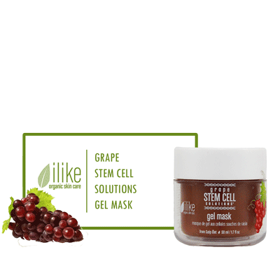 Ilike Gel Mask - Grape Stem Cell Solutions - BiosenseClinic.ca
