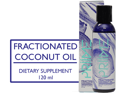 Priime Fractionated Coconut Oil - BiosenseClinic.ca