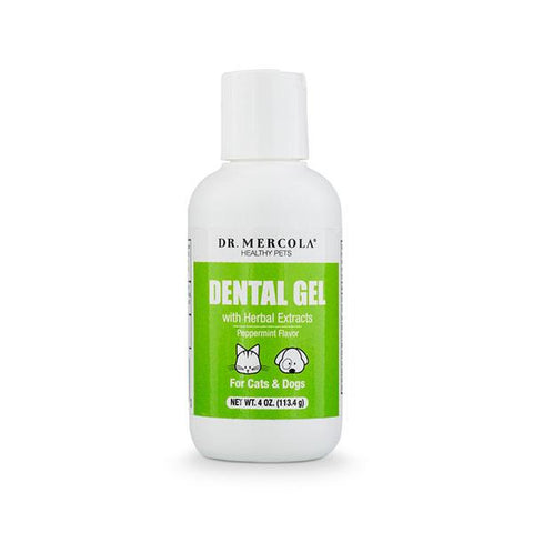 Dr Mercola Dental Gel for Pets - BiosenseClinic.ca