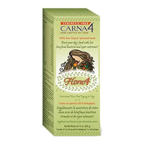 Carna4® Flora4 Sprouted Seed Food Topper - BiosenseClinic.ca
