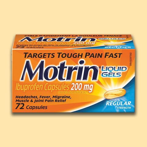 Motrin Ib Liquid Gels - Regular Strength