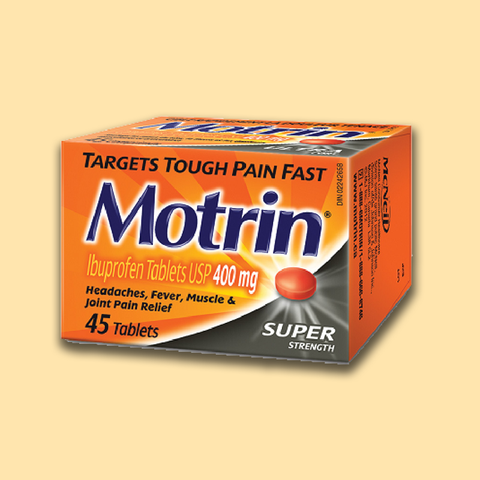 Motrin Ib Super Strength Tabs