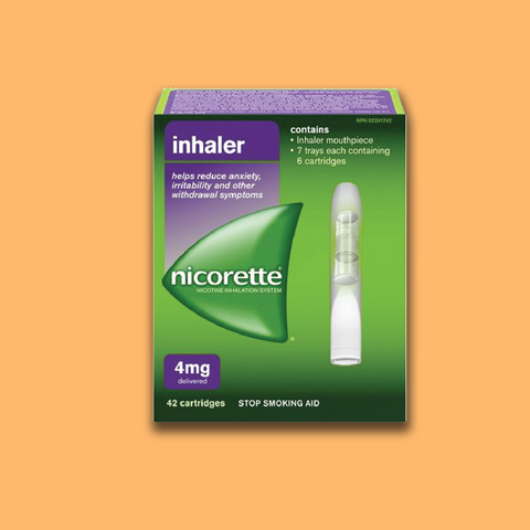 NICORETTE INHALER PLUS REFILL