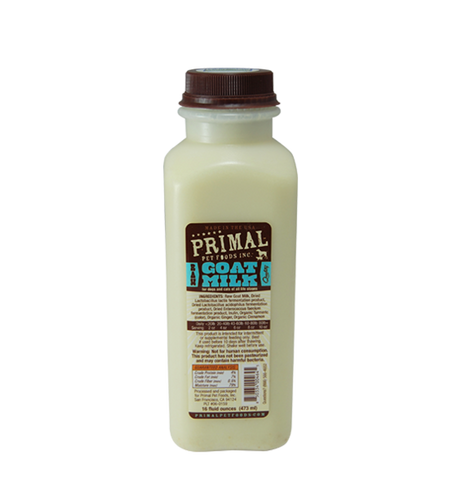 Raw GoatT Milk 16oz