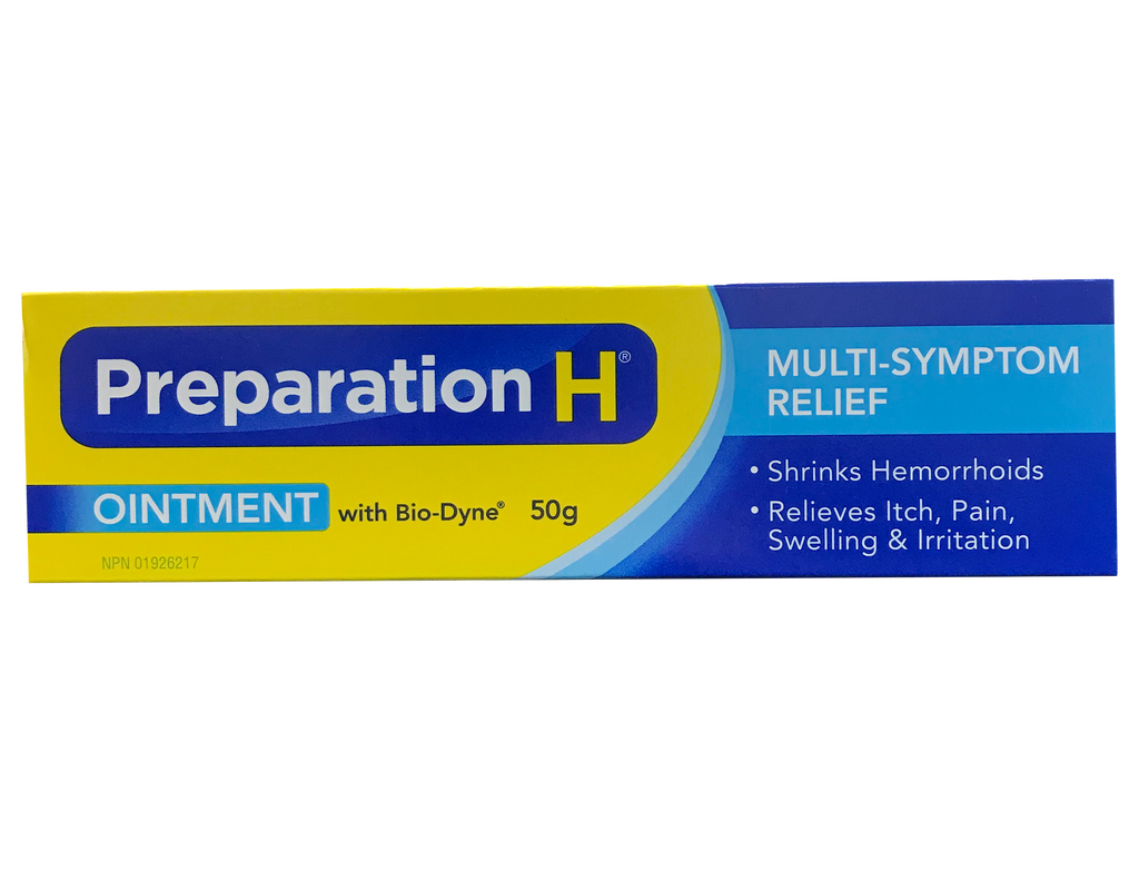Preparation H Ointment with Biodyne - BiosenseClinic.ca