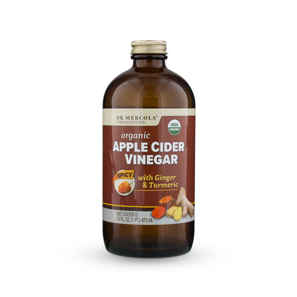 Organic Apple Cider Vinegar – Spicy - BiosenseClinic.ca