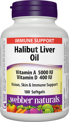 Halibut Liver Oil - BiosenseClinic.ca