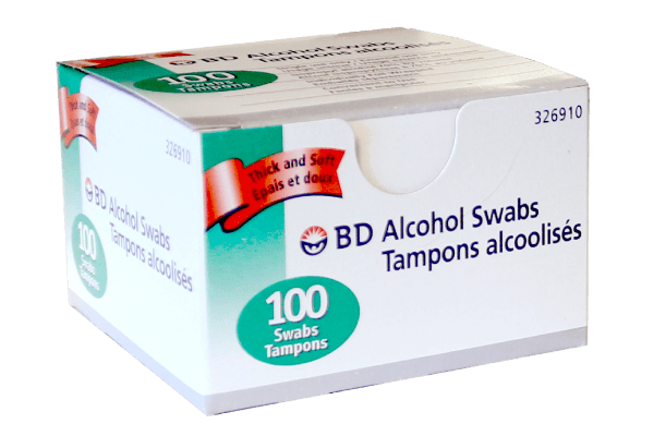 BD Alcohol Swabs - BiosenseClinic.ca