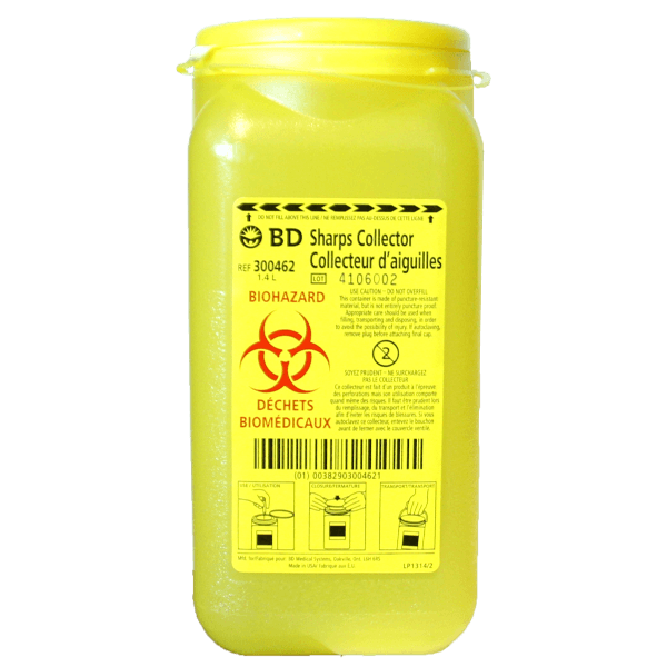 BD Sharps Container - BiosenseClinic.ca