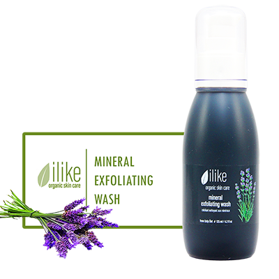 Ilike Exfoliating Wash - Mineral - BiosenseClinic.ca
