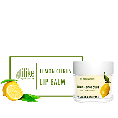 Ilike Lip Balm - Lemon Citrus - BiosenseClinic.ca