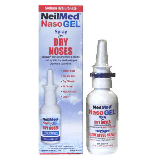 Neilmed NasaMist All-In-One Saline Spray - BiosenseClinic.ca