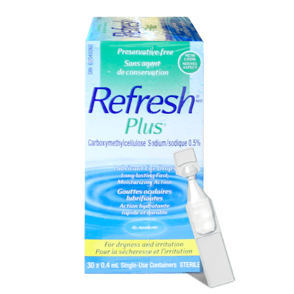REFRESH PLUS 0.5% EYE DROPS - BiosenseClinic.ca