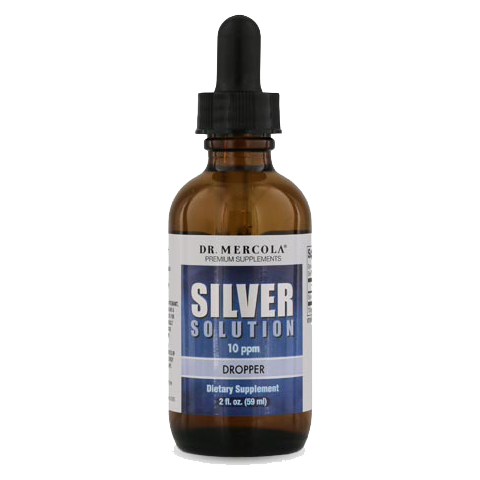 Silver Solution Dropper (50 mcg)