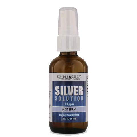Silver Solution Mist Spray (50 mcg) - BiosenseClinic.ca