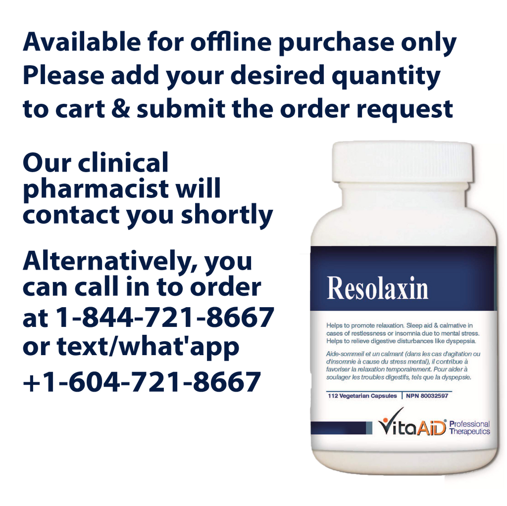 VitaAid Resolaxin - BiosenseClinic.ca